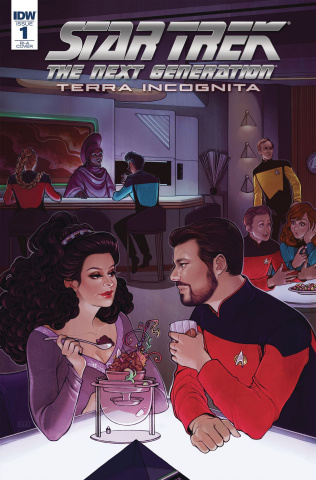 Star Trek: The Next Generation - Terra Incognita #1 (10 Copy Beals Cover)