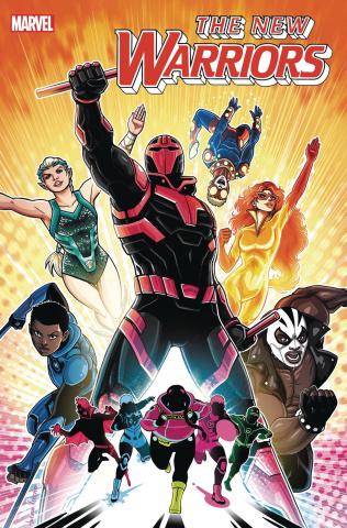 New Warriors #1 (Vecchio Cover)