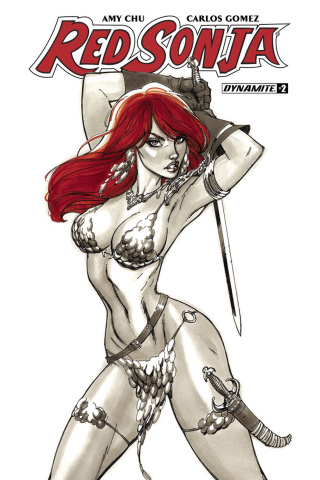 Red Sonja #2 (Campbell Cover)