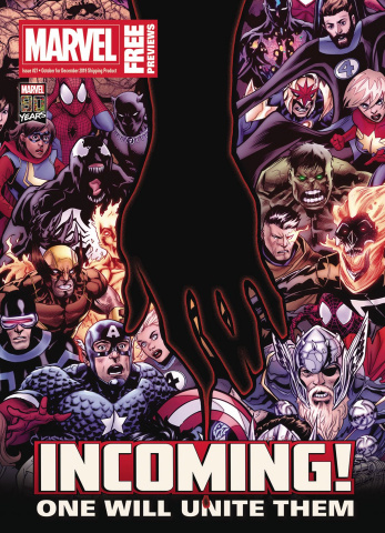 Marvel Previews #29: December 2019 Extras