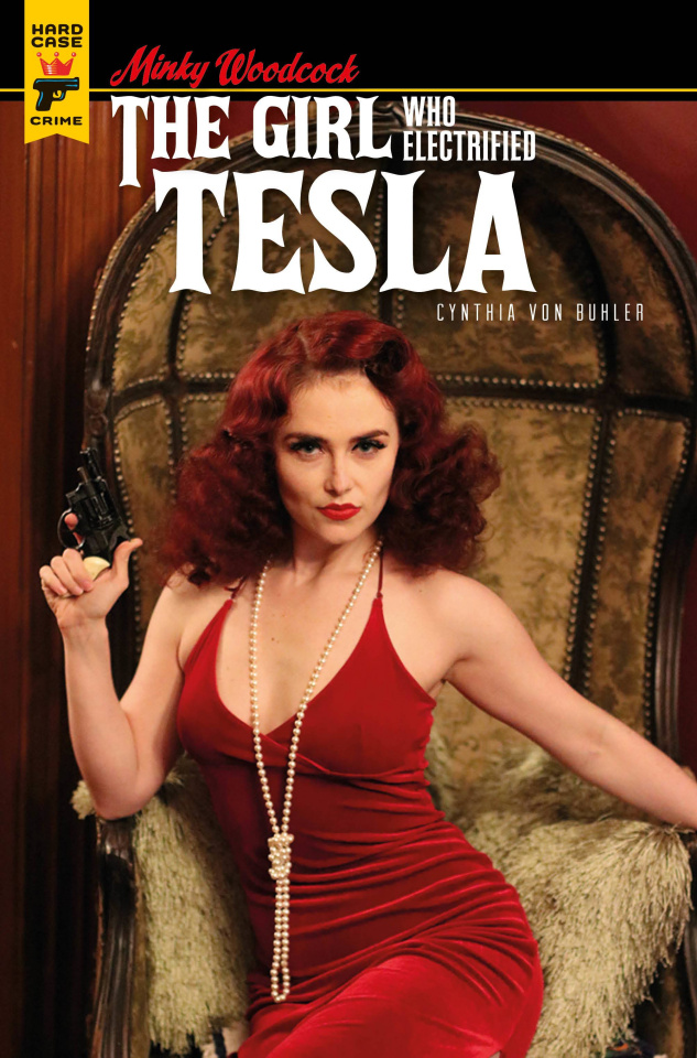 Minky Woodcock: The Girl Who Electrified Tesla #4 (Photo Cover)