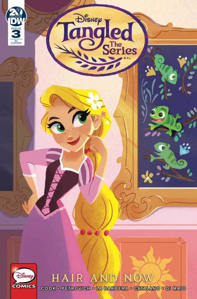 Tangled: Hair and Now #3 (10 Copy Zapata Cover)