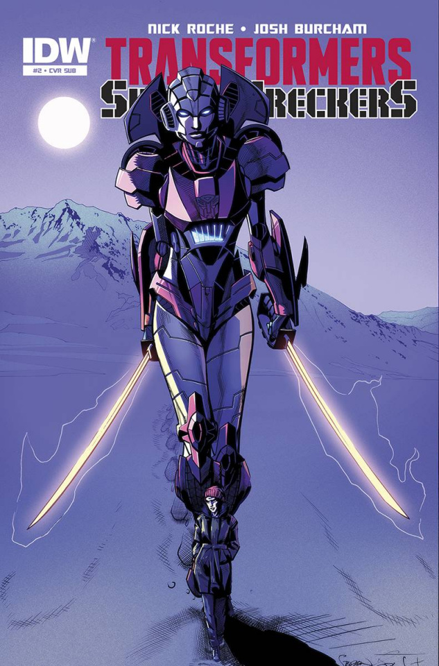 The Transformers: Sins of the Wreckers #2 (Subscription Cover)