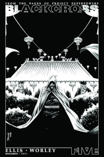 Blackcross #5 (25 Copy Shalvey B&W Cover)