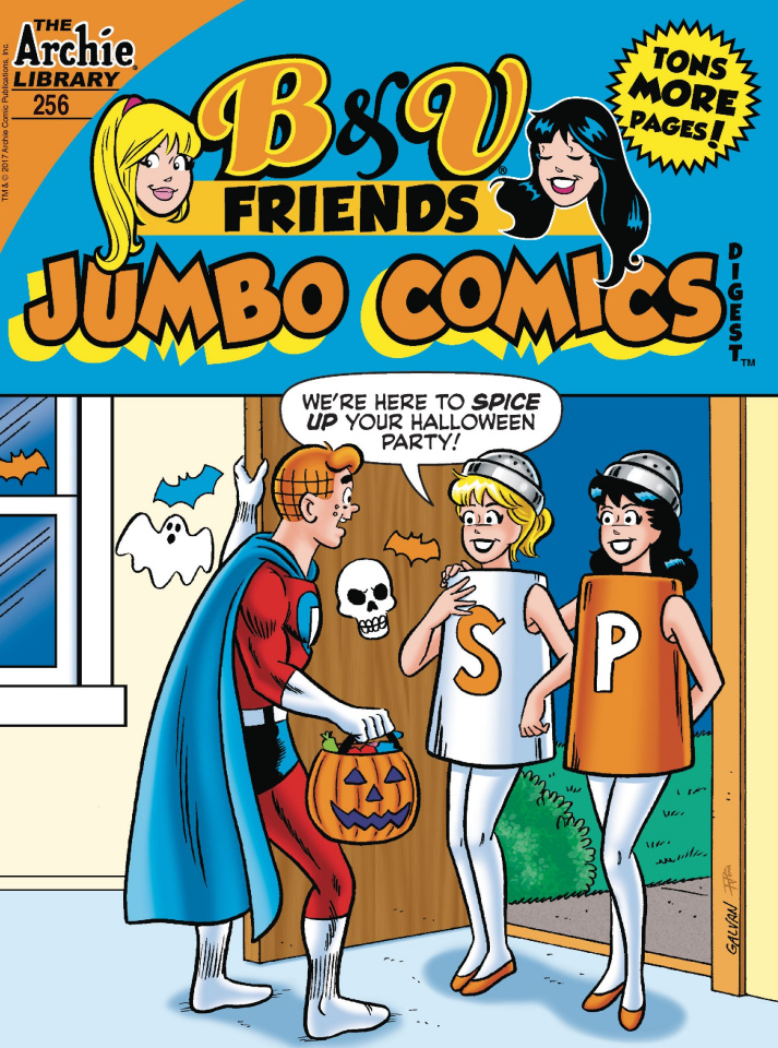 B & V Friends Jumbo Comics Digest #256
