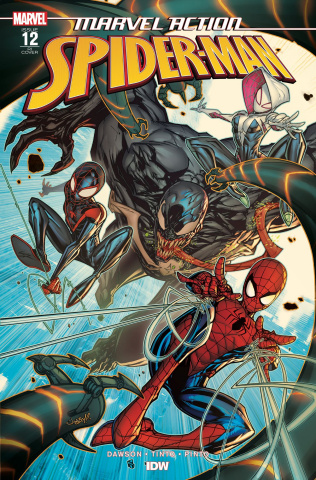 Marvel Action: Spider-Man #12 (10 Copy Meyers Cover)