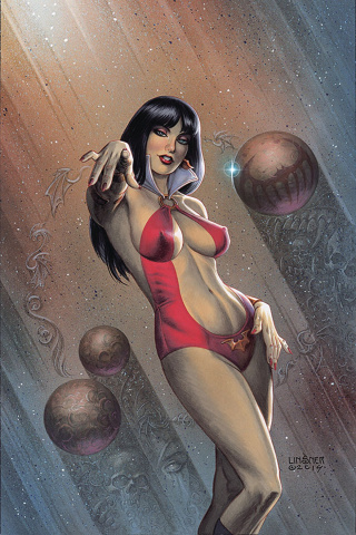 Vampirella #1 (Linsner Virgin Cover)