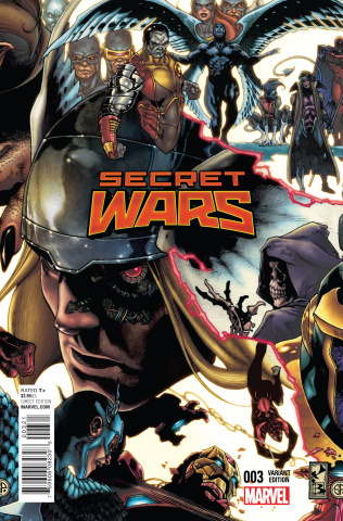 Secret Wars #3 (Bianchi Connecting Cover)