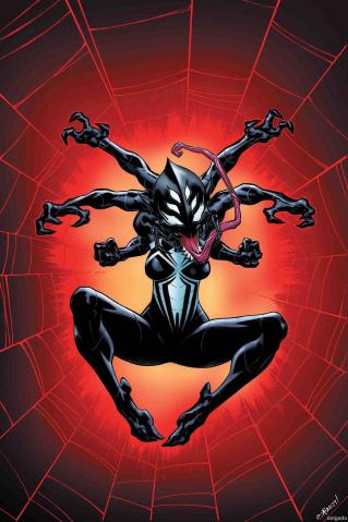 Spider-Man / Deadpool #21 (Venomized Itsy Bitsy Cover)