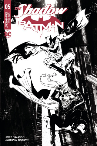 The Shadow / Batman #5 (30 Copy Carey Cover)