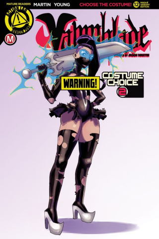 Vampblade #12 (Costume Choice 2 Risque Cover)