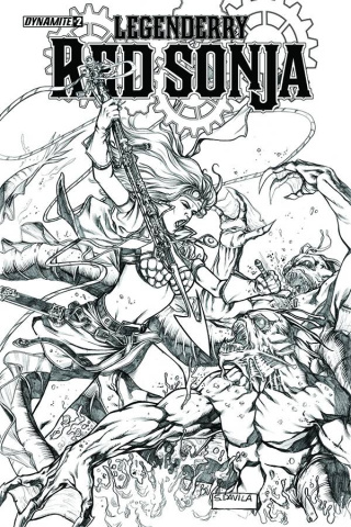 Legenderry: Red Sonja #2 (10 Copy Davila Cover)