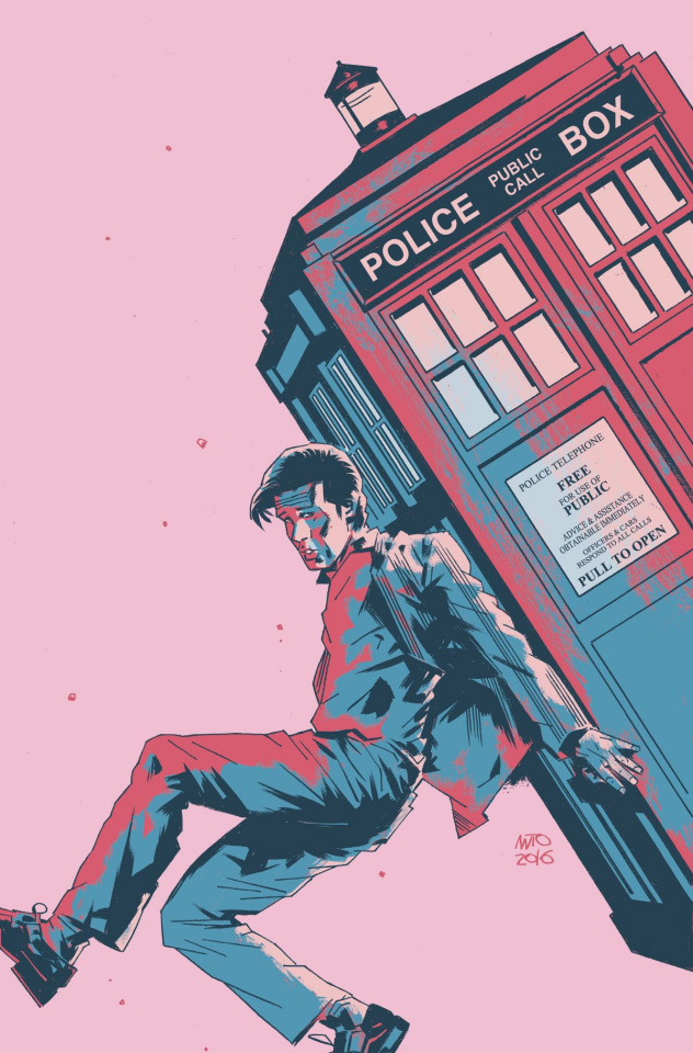 Doctor Who: New Adventures with the Eleventh Doctor, Year Three #9 (Fuso Cover)