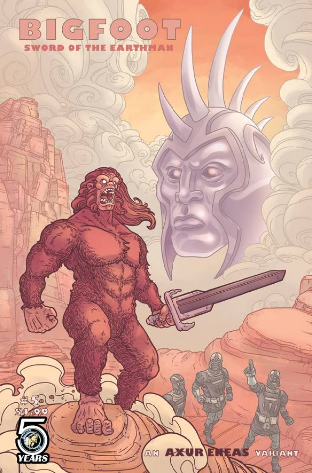 Bigfoot: Sword of the Earthman #5 (Eneas Cover)