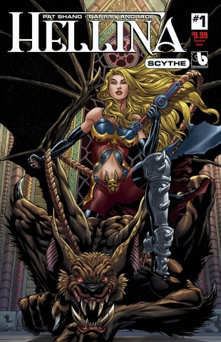 Hellina: Scythe #1 (Guardian Cover)