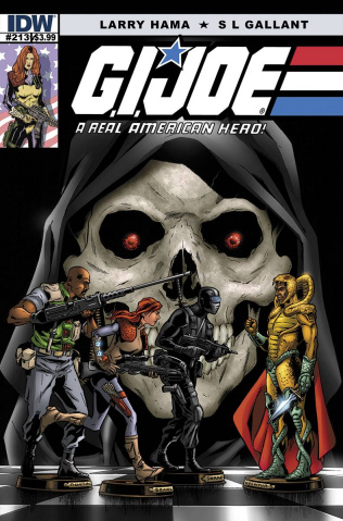 G.I. Joe: A Real American Hero #213