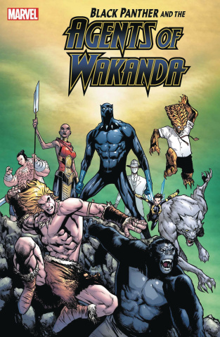 Black Panther and the Agents of Wakanda #3 (Ramos Cover)