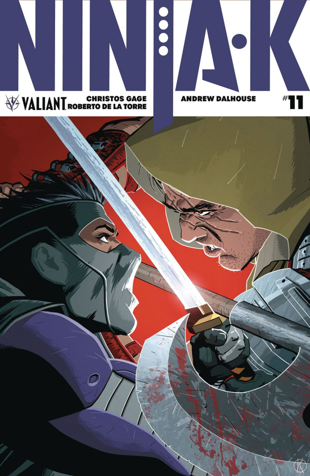 Ninja-K #11 (Kano Cover)