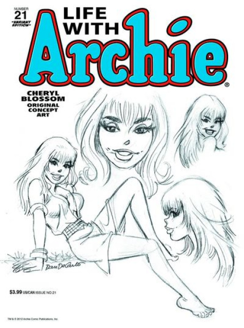 Life With Archie #21 (DeCarlo Cover)