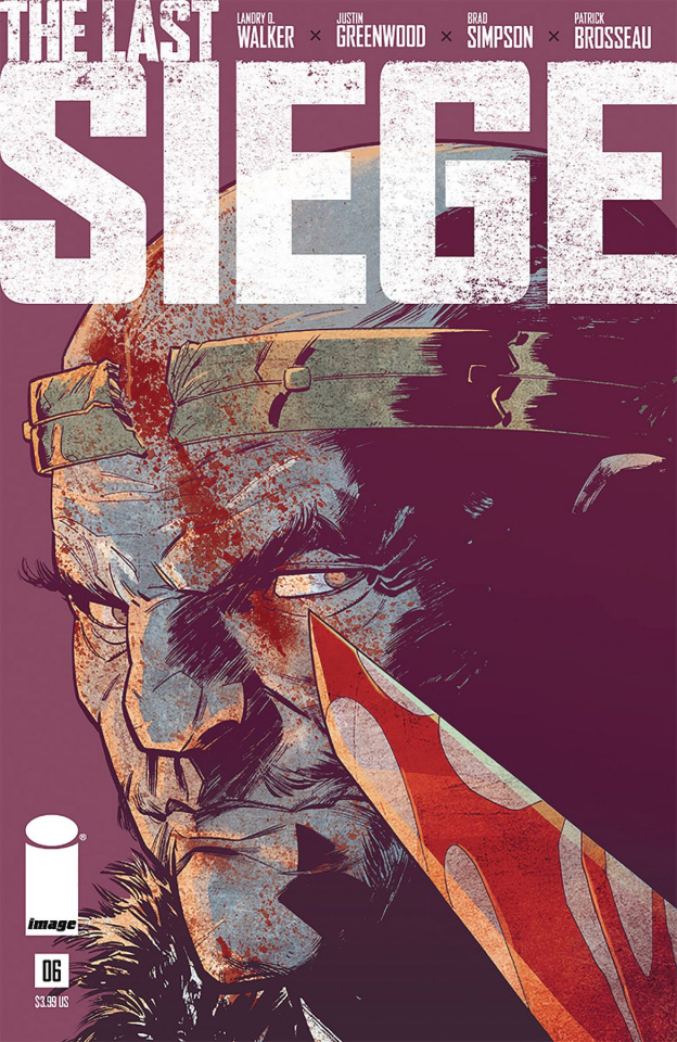 The Last Siege #6 (Greenwood Cover)