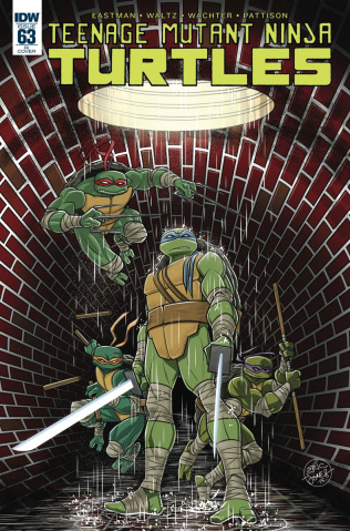 Teenage Mutant Ninja Turtles #63 (10 Copy Cover)