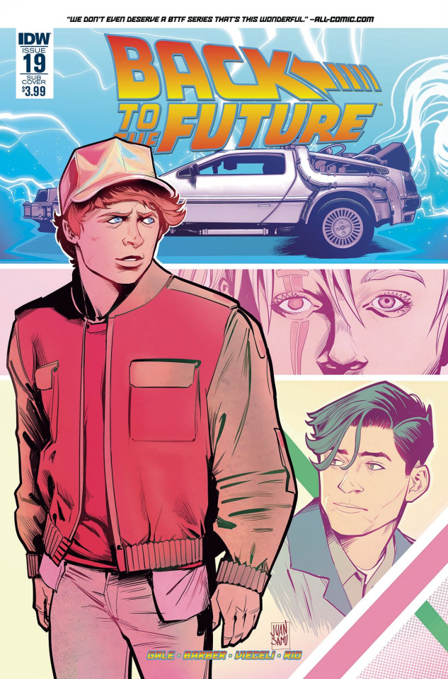 Back to the Future #19 (Subscription Cover)