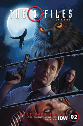The X-Files Case Files: Hoot Goes There? #2 (Nodet Cover)