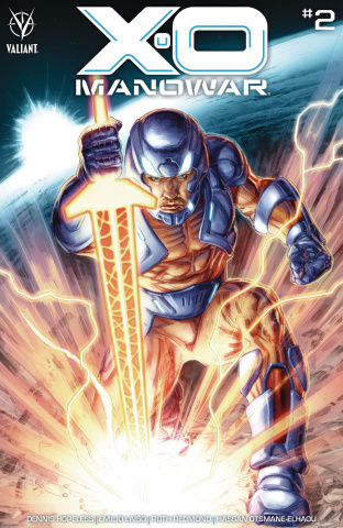X-O Manowar #2 (Braithwaite Cover)