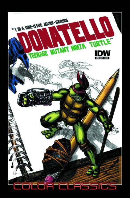 TMNT Color Classics Micro Series: Donatello