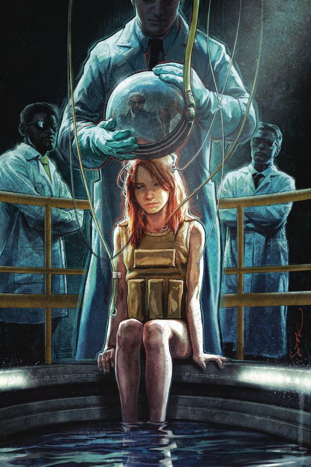 Stranger Things: Six #3 (Briclot Cover)