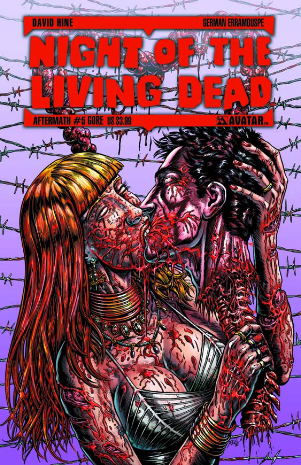 Night of the Living Dead: Aftermath #5 (Gore Cover)