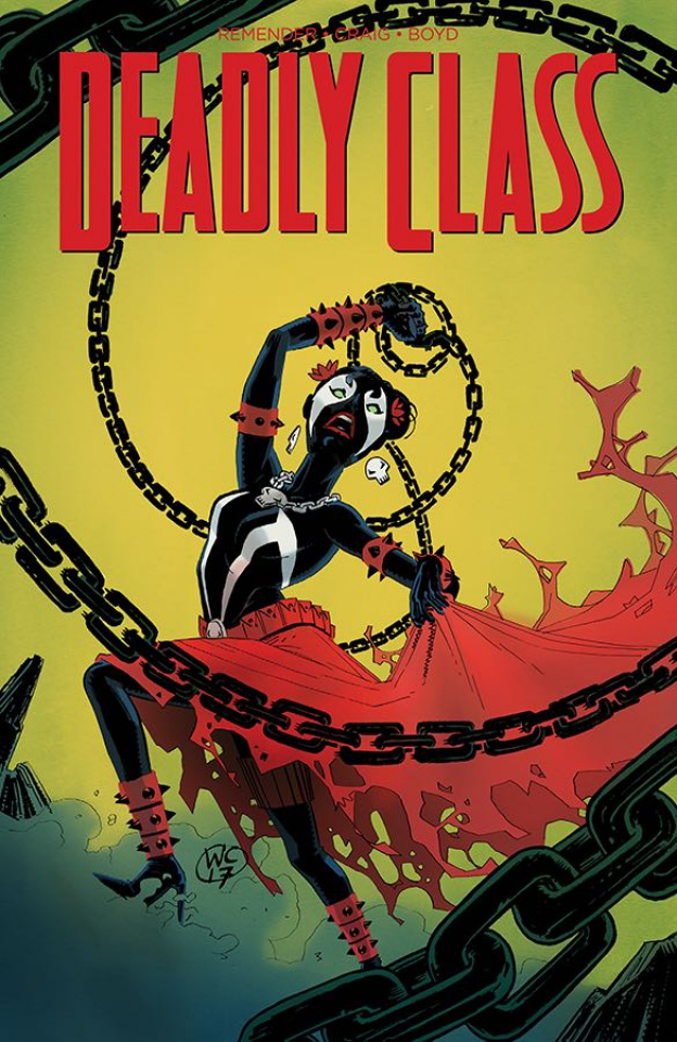 Deadly Class #28 (Spawn Month Cover)