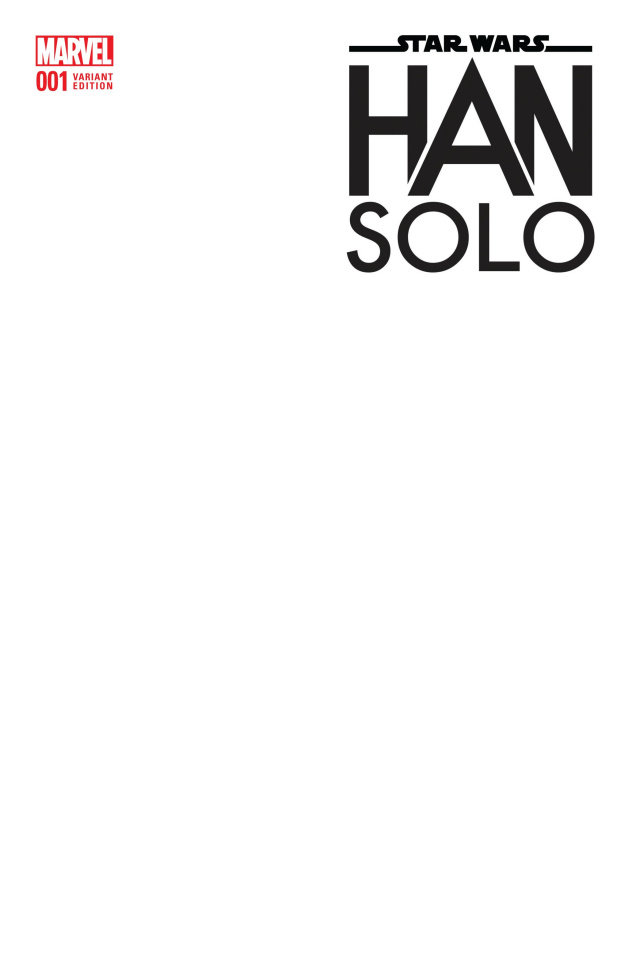 Star Wars: Han Solo #1 (Blank Cover)