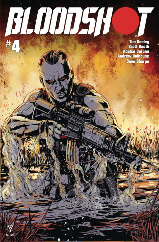 Bloodshot #4 (Laming Cover)