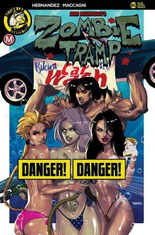 Zombie Tramp #80 (Mastajwood Risque Cover)