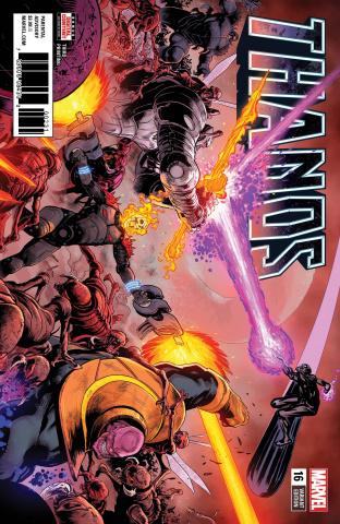 Thanos #16 (Shaw 3rd Printing)