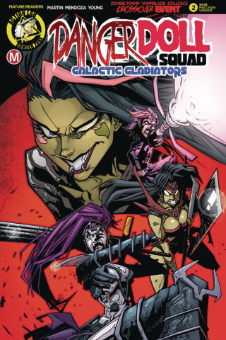 Danger Doll Squad: Galactic Gladiators #2 (Maccagni Cover)