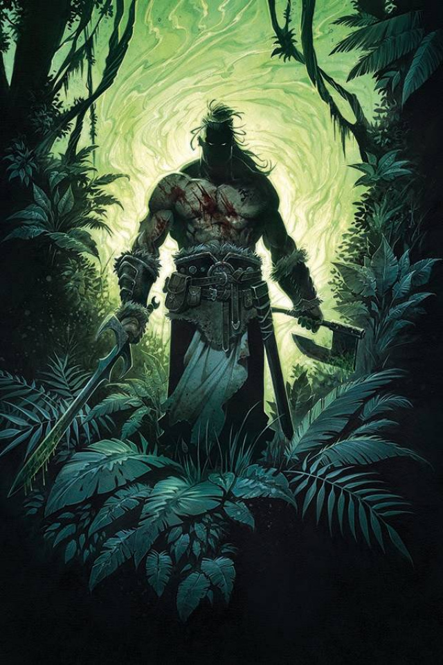 The Cimmerian: Beyond the Black River #1 (20 Copy Jean Virgin Cover)