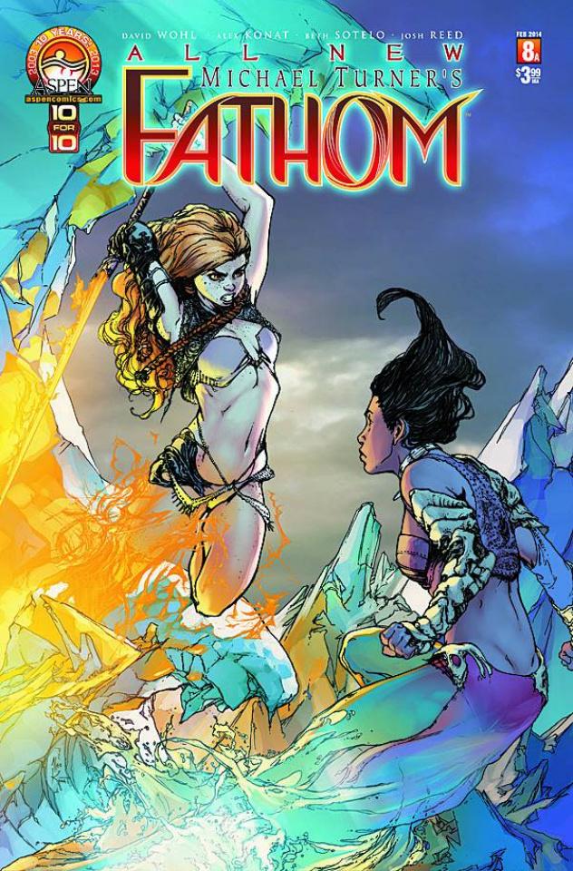 All New Fathom #8 (Direct Market Cover)