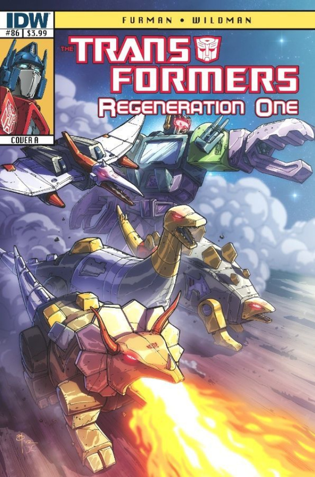 The Transformers: Regeneration One #86