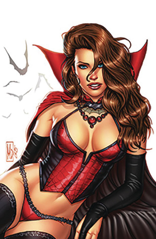 Grimm Fairy Tales 2019 Horror Pinup (Dipascale Cover)