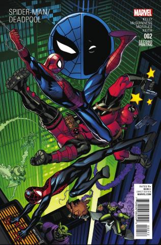 Spider-Man / Deadpool #2 (McGuinness 2nd Printing)