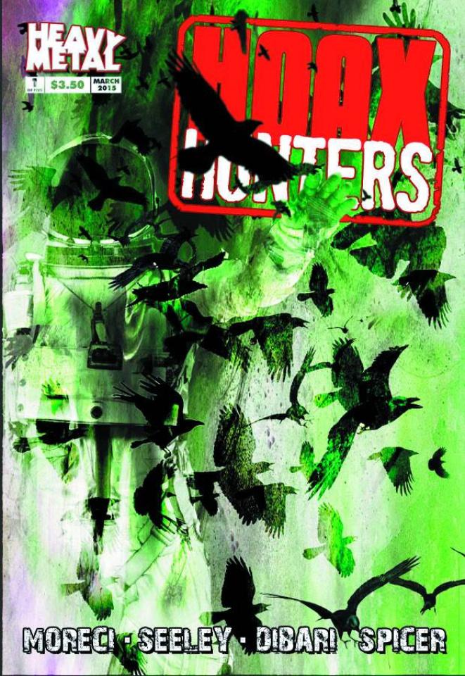 Hoax Hunters 2015 #1 (10 Copy Cover)