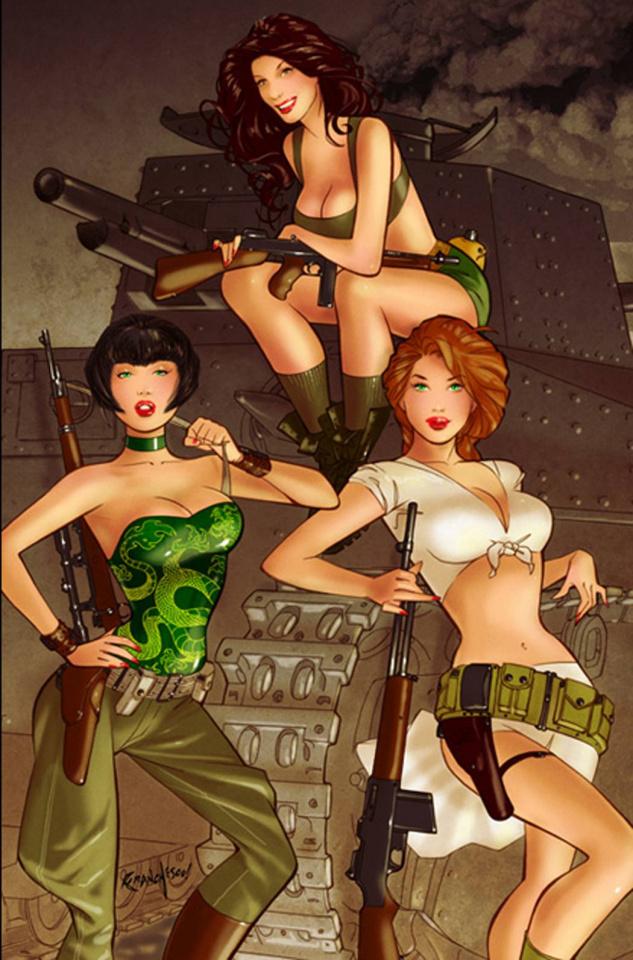 Bar Maid #5 (Franchesco Cover)