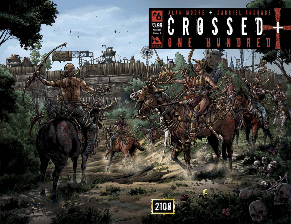 Crossed + One Hundred #6 (American History X Wrap Cover)