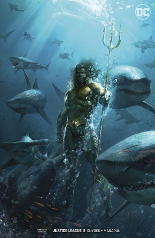Justice League #11 (Drowned Earth Variant)