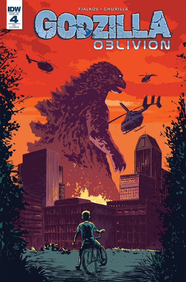 Godzilla: Oblivion #4 (10 Copy Cover)