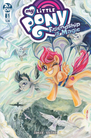 My Little Pony: Friendship Is Magic #81 (Richard Cover)