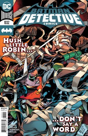 Detective Comics #1032 (Brad Walker & Andrew Hennessy Cover)