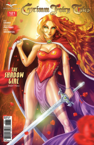 Grimm Fairy Tales #121 (Cardy Cover)